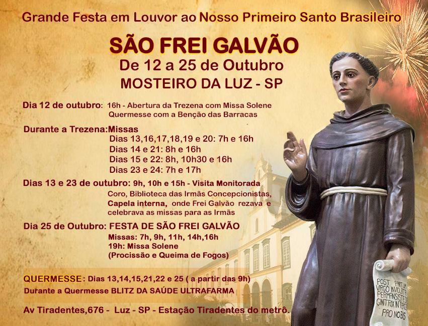 Festa de São Frei Galvão 2017